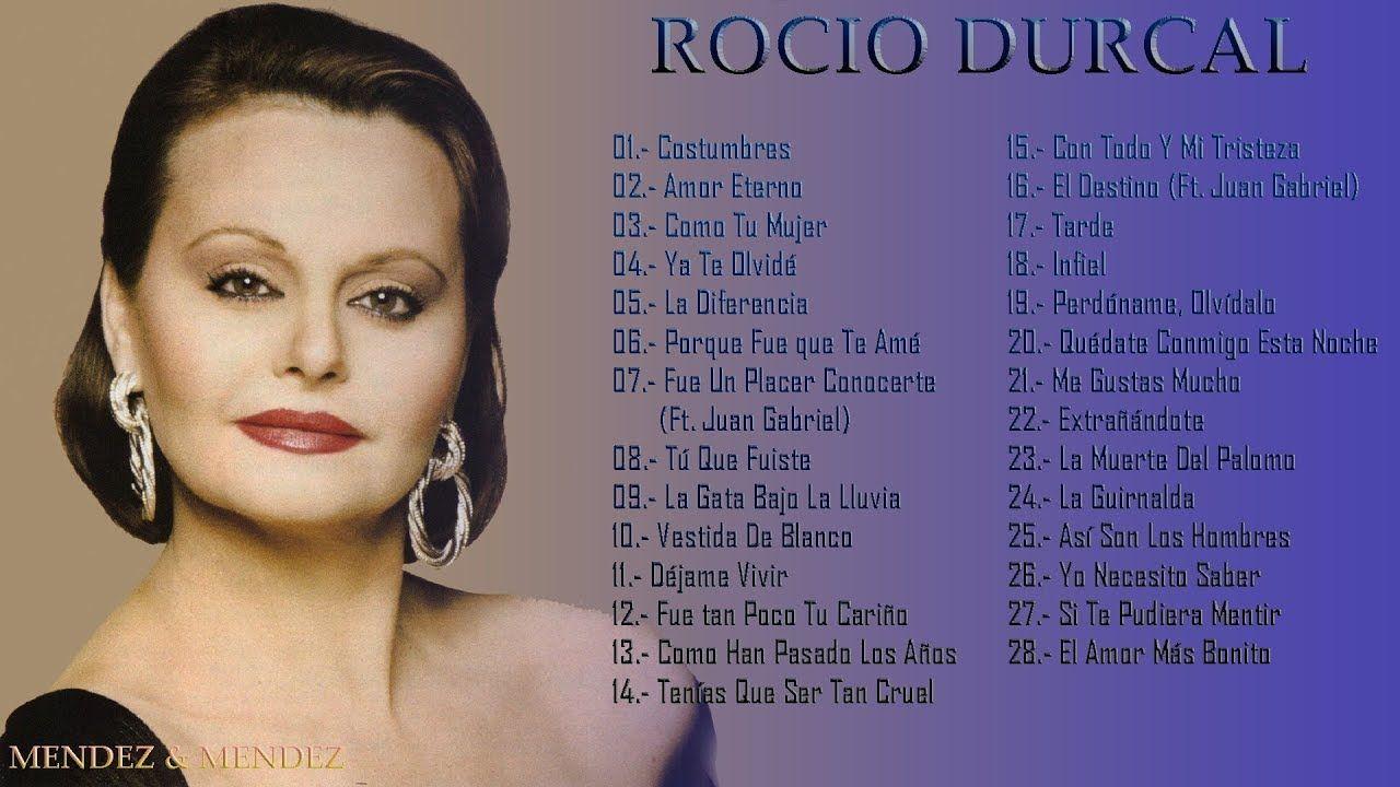 Carátula Frontal de Rocio Durcal - Me Gustas Mucho (Todos ...