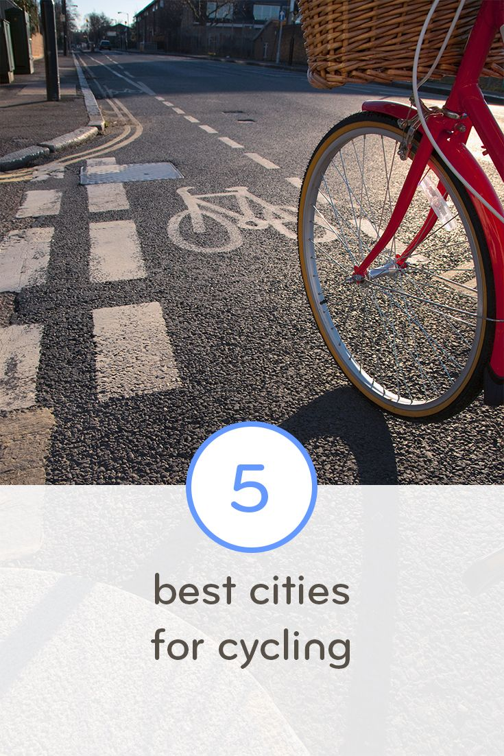 Great U S Cities For 5 Types Of Cycling Types Of Cycling Road Trip Diy Bicycle