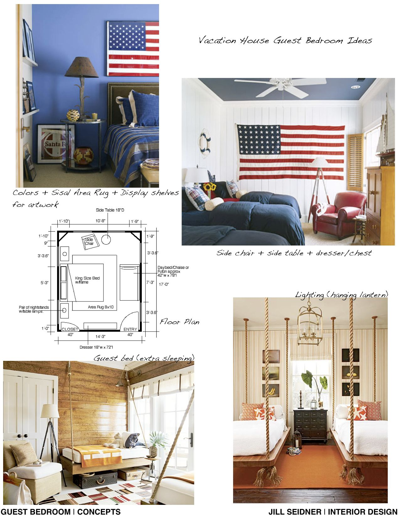 Concept Board And Furniture Layout For An Online Design Project Vacation House On Martha S Vineyard Interior Design Help Interior Design Room Design