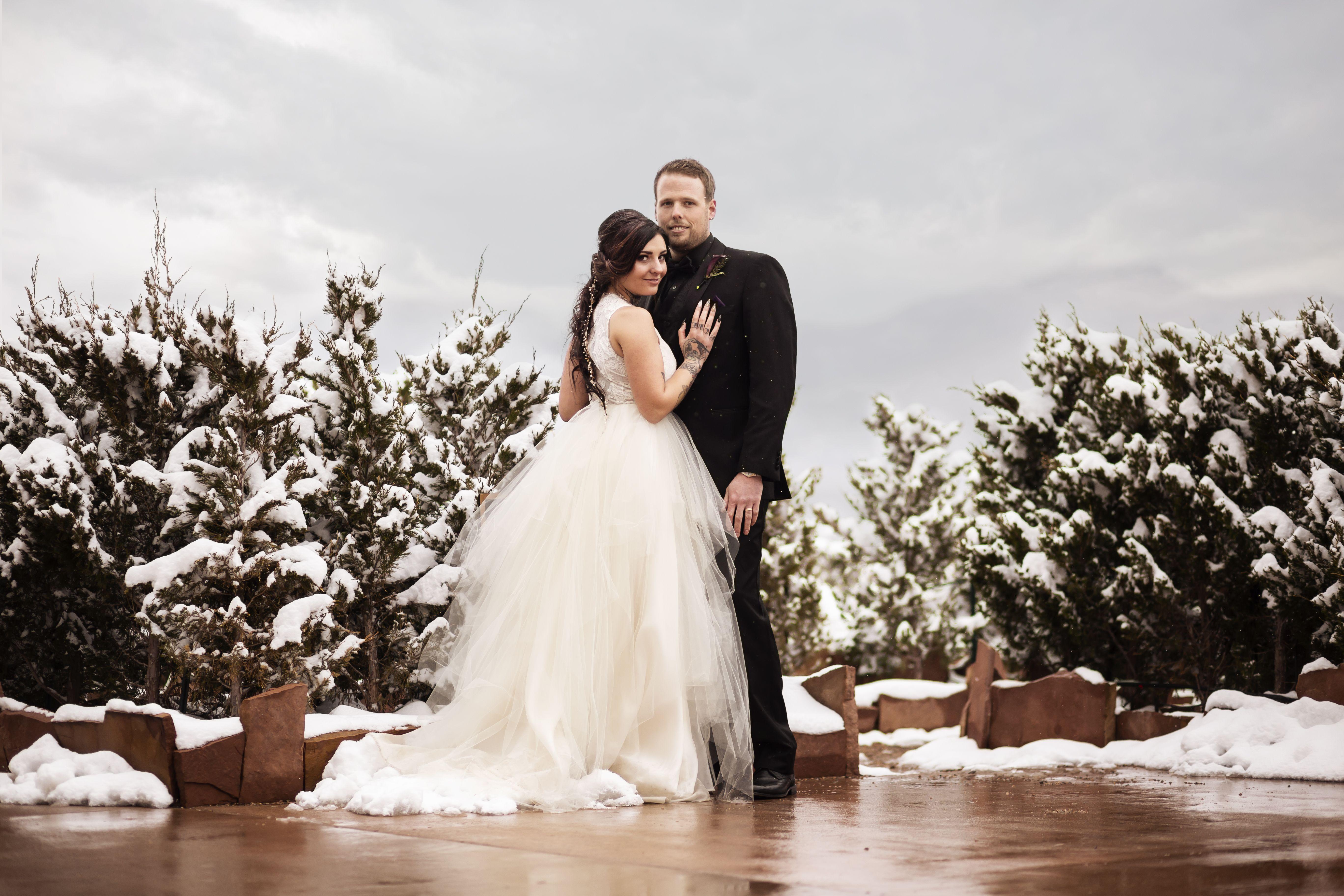 Winter Destination Wedding   Wedding, Wedding dresses lace ...