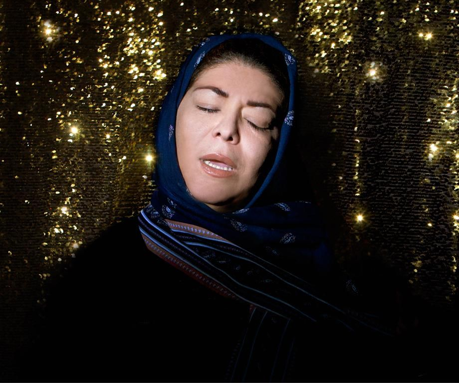 """Powerful series """"Listen"""" by Newsha Tavakolian on Iranian singers banned from singing alone on stage for a general audience."""