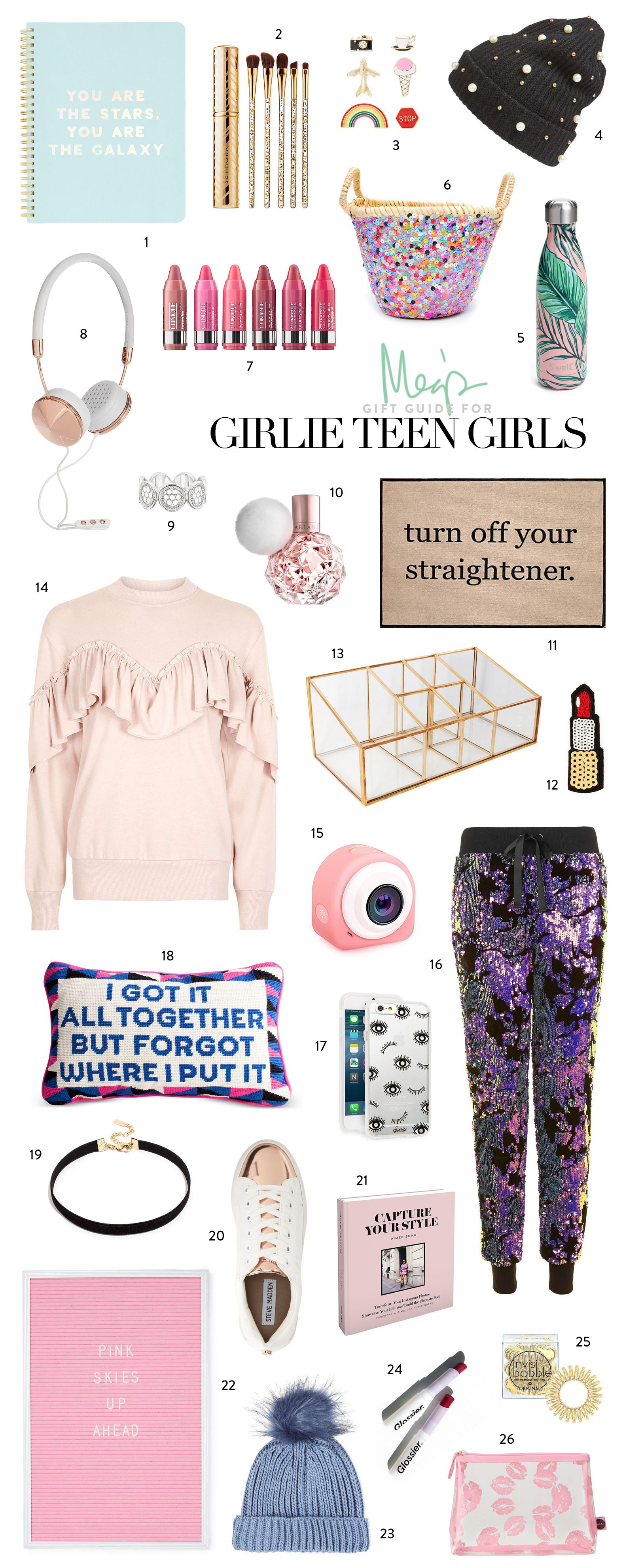 its always fun to channel my inner teen to find fun gifts for teen girls is there anything you want on this list most of these are super affordable