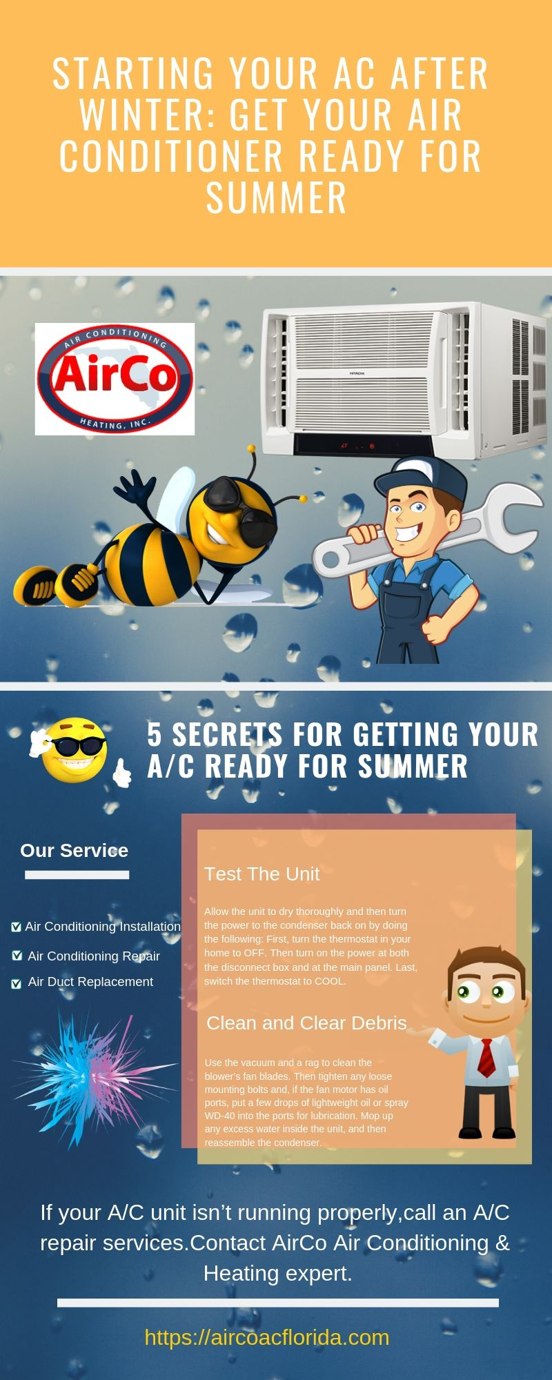 Heating and Air Conditioning Repair Before you call a AC