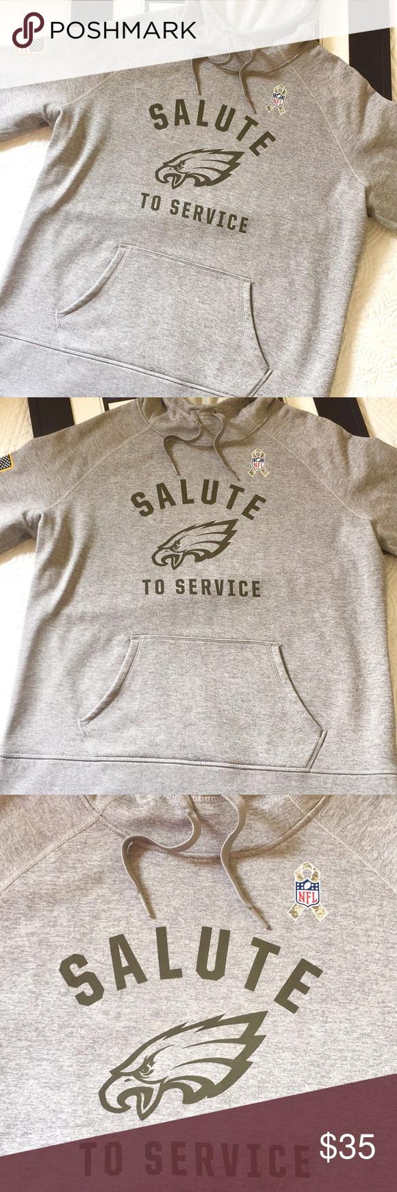 Nike Salute To Service Hoodie Philadelphia Eagles Nike Philadelphia Eagles Nfl Salute To Service Hoodie Is In Long Sleeve Tshirt Men Salute To Service Hoodies [ 1740 x 580 Pixel ]