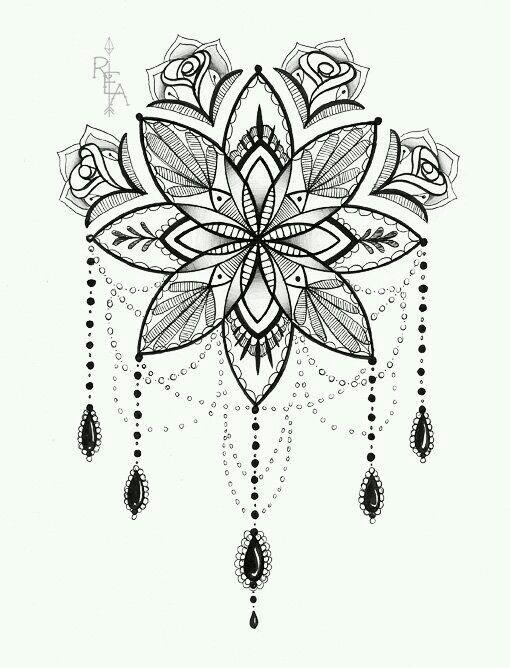 Lindo rose | henna | Pinterest | Mandalas, Páginas para colorear y ...