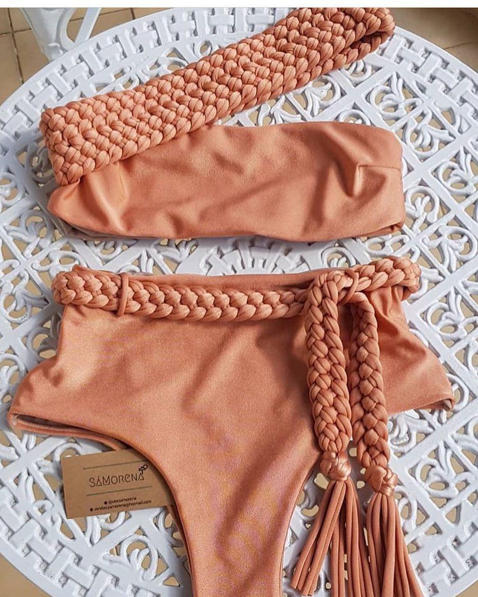 afaa3acfd Estilo e qualidade vocês encontram aqui no @usesamorena! Sua loja online de moda  praia feminina. Parcelamos em 3x sem juros pelo PagSeguro,…