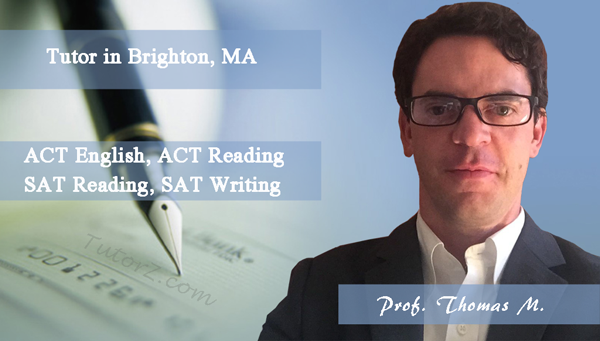 Meet our new SAT/ACT #tutor Prof. Thomas M. He specializes in ACT English, ACT #Reading, #SAT Reading, SAT #Writing: http://goo.gl/MCTjVB