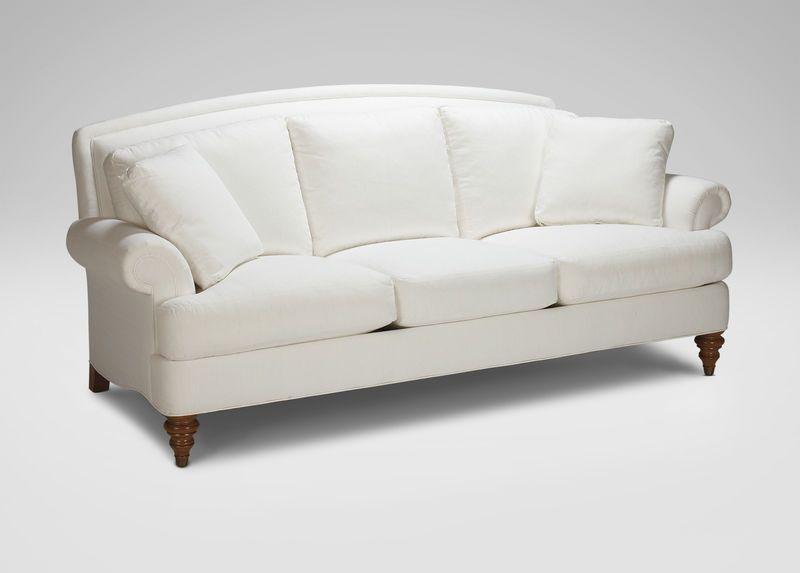 Hyde Three Cushion Sofa Has Loveseat Chair And Ottoman