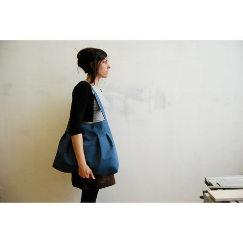 The Market Bag in Provincial Blue by Moop