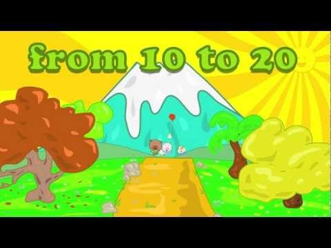 Counting Numbers For Children From 10 20 The Singing Walrus Check Out This Lush Sounding Number Song And Whimsical An Math Songs Music For Kids Number Song