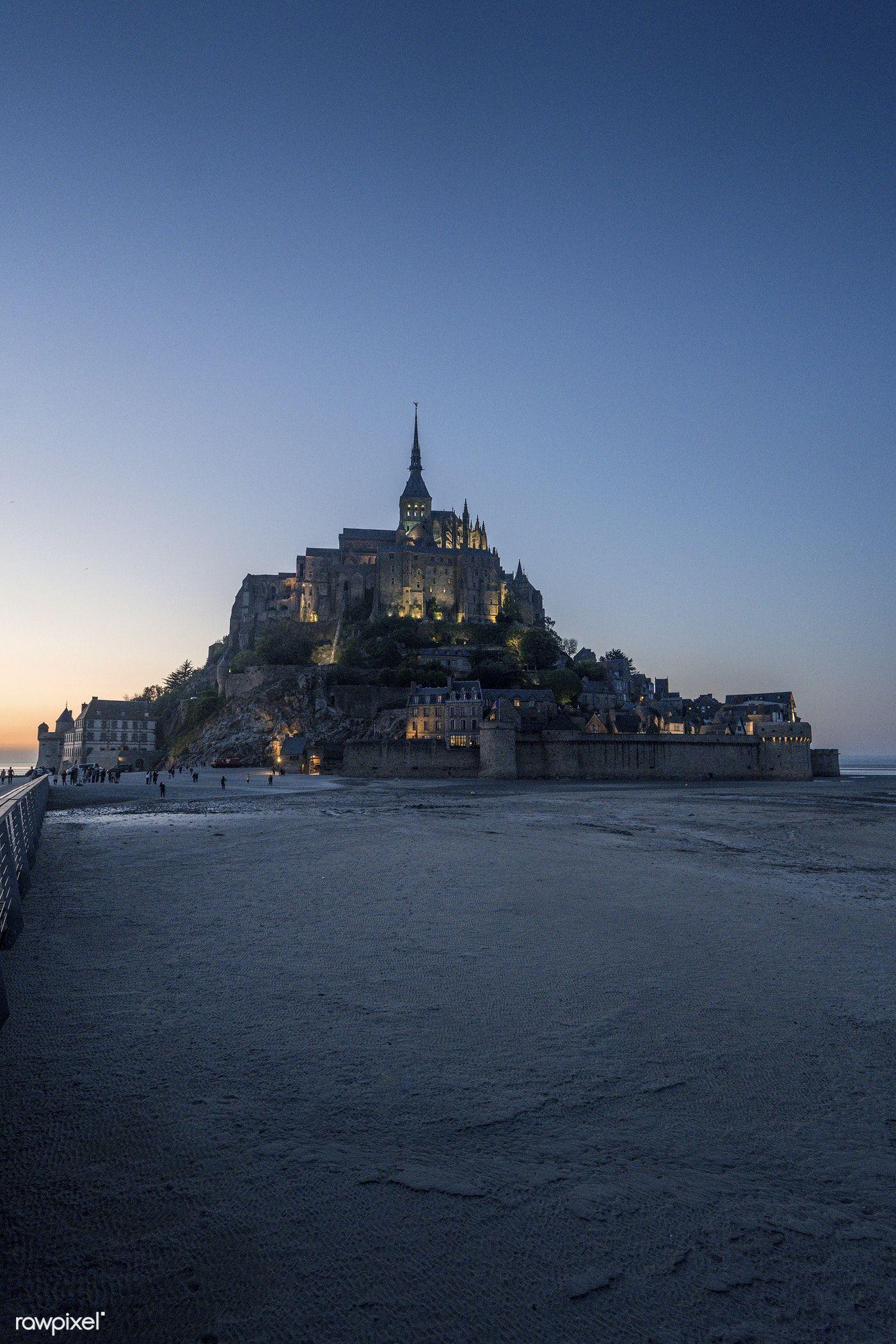 Le Mont Saint Michel In Normandy France Free Image By Rawpixel Com Jack Anstey Tourism Images Dream Travel Destinations Mont Saint Michel France