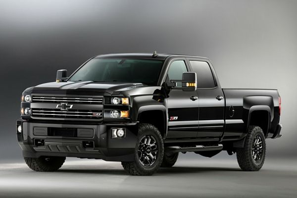 2016 Chevrolet Silverado 2500hd Z71 Midnight Edition Chevy