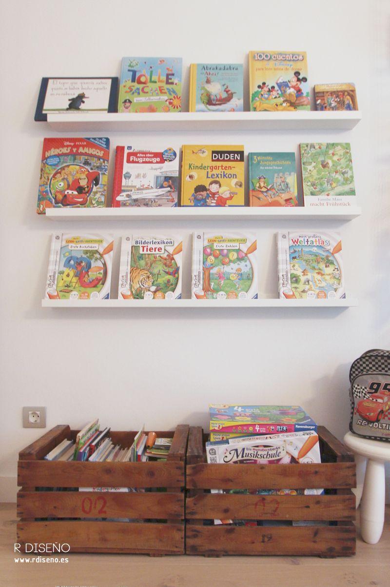 Estanterias De Ikea Para Libros Free Affordable Crea Una  ~ Estanterias Para Libros Infantiles