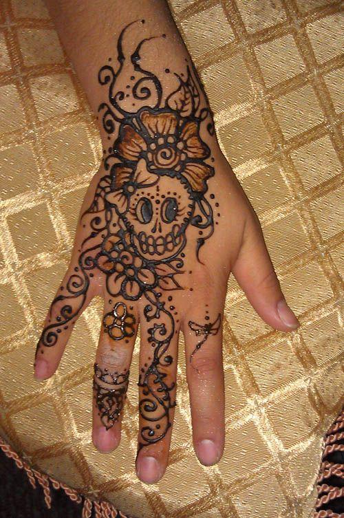 Henna Sugar Skull