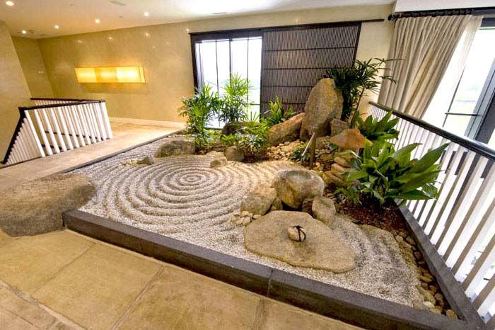 interior rock landscaping ideas. Indoor Rock Garden Ideas. The Zen Space Can Be Moved Entirely Inside Home  Even Like In This Case On Second Floor Of House Obstacles Front Introducing Such A Interior Landscaping Ideas E