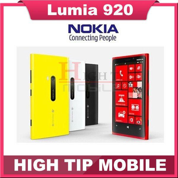 نوكيا Lumia 920 الأصلي مقفلة ويندوز الهاتف المحمول ثنائي النواة 32 جيجابايت 8 7mp 3 جرام Gps Wifi 4 5 لمس تجديد Nokia Lumia 920 Mobile Phone Nokia
