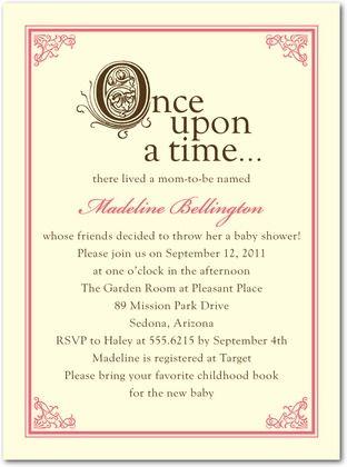 storybook invite event baby shower pinterest storybook baby