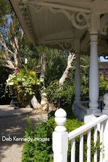 The Original Disneyland Bandstand Gazebo, Now At Rogersu0027 Gardens In Newport  Beach, ...