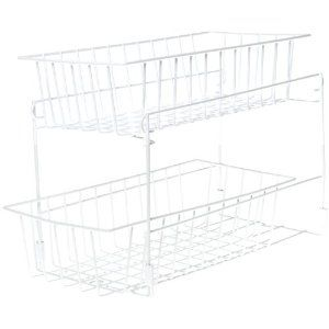 Handy Gourmet Sliding Cabinet Storage Rack