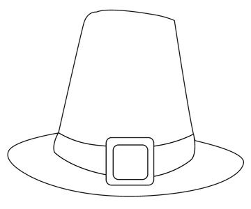 image relating to Printable Pilgrim Hats known as Thanksgiving Coloring Web pages towards Print at Residence Clroom