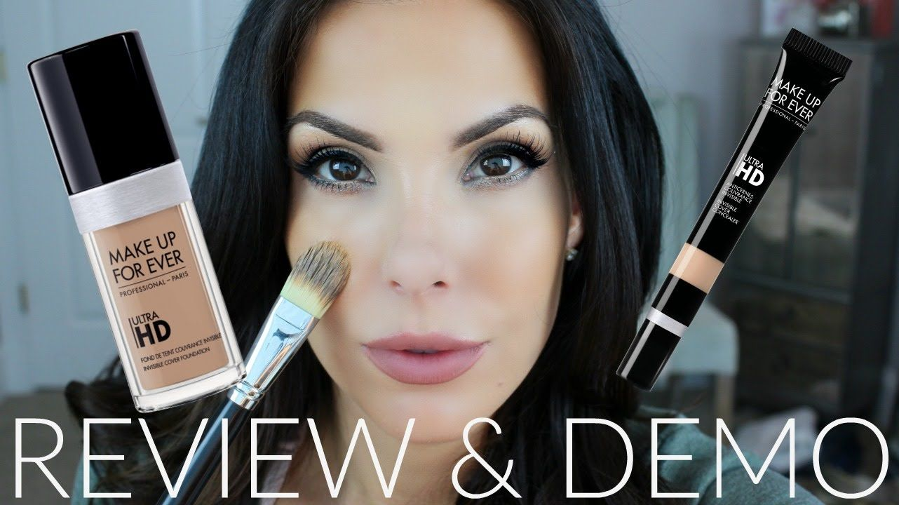 Makeup Forever ULTRA HD Foundation and Concealer Review
