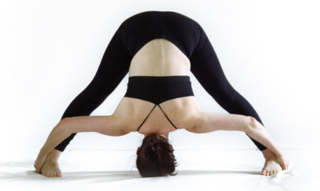bikram standing separate leg stretching pose  hot yoga