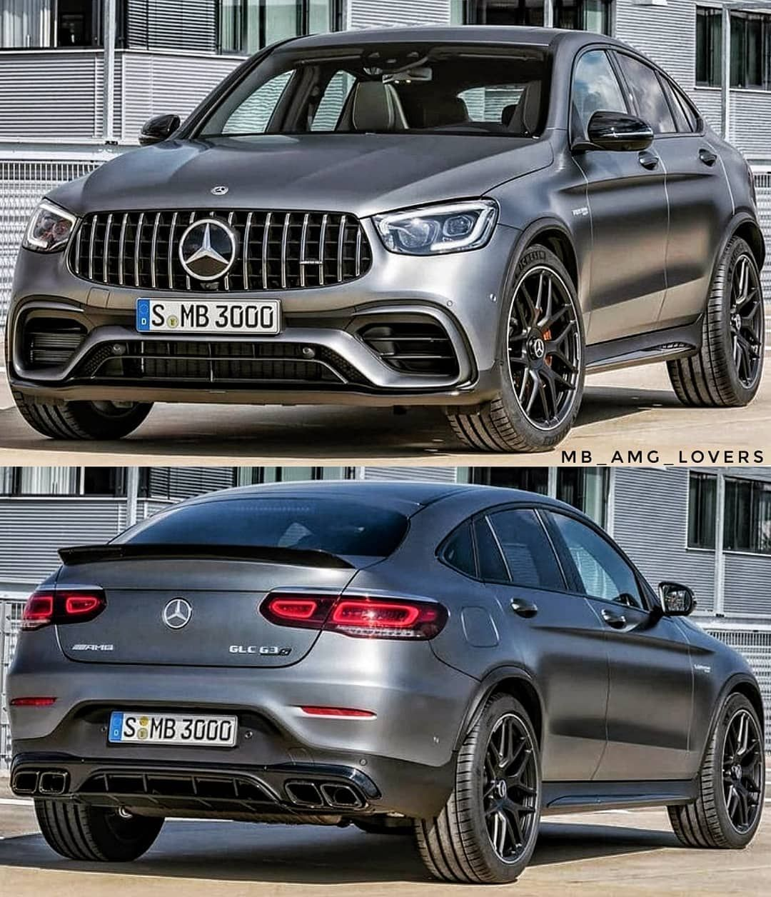 Mercedes Amg C253 Glc 63 S Coupe Facelift Courtesy Daimler Ag