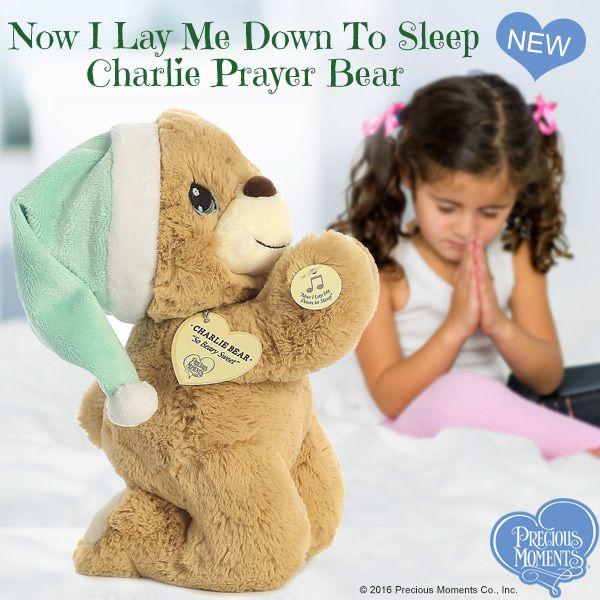 Prayer Bear Now i Lay me Down to Sleep