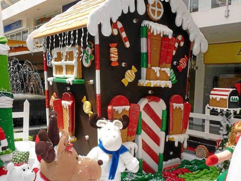 Resultado de imagen para casa decorada de dulces navide a for Cosas de casa decoracion navidena