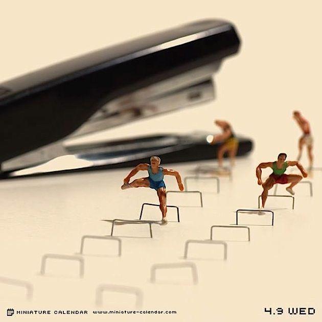 Miniature Calendar - Jeden Tag ein neues Bild seit 2011
