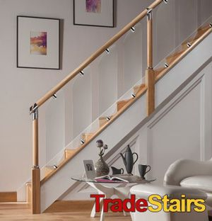 Best Axxys Clarity Glass Glass Stairs Glass Balustrade 400 x 300