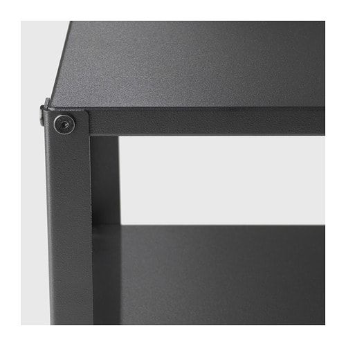 Knarrevik Nightstand Black Black 14 5 8x11 Ikea Black