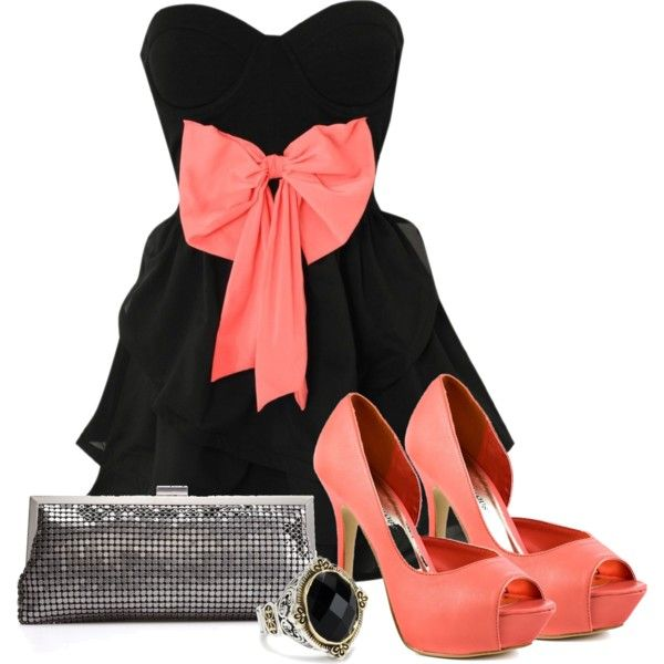 This would be so adorable to wear on a date or to a wedding