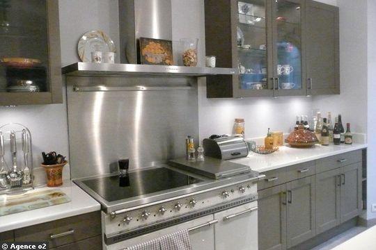 Une Chambre De M Devenue Cuisine Avec îlot Central Photo - Bruleur pour gaziniere pour idees de deco de cuisine