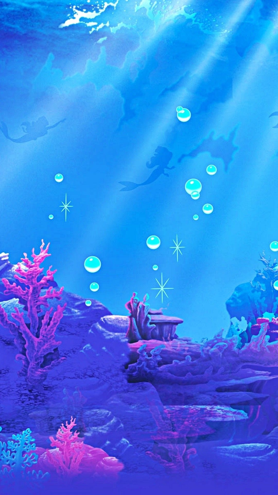 1080x1920 The Little Mermaid Wallpapers (60+ images) (With ...