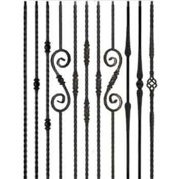 Best Solid Mediterranean Iron Balusters Iron Stair Railing 640 x 480