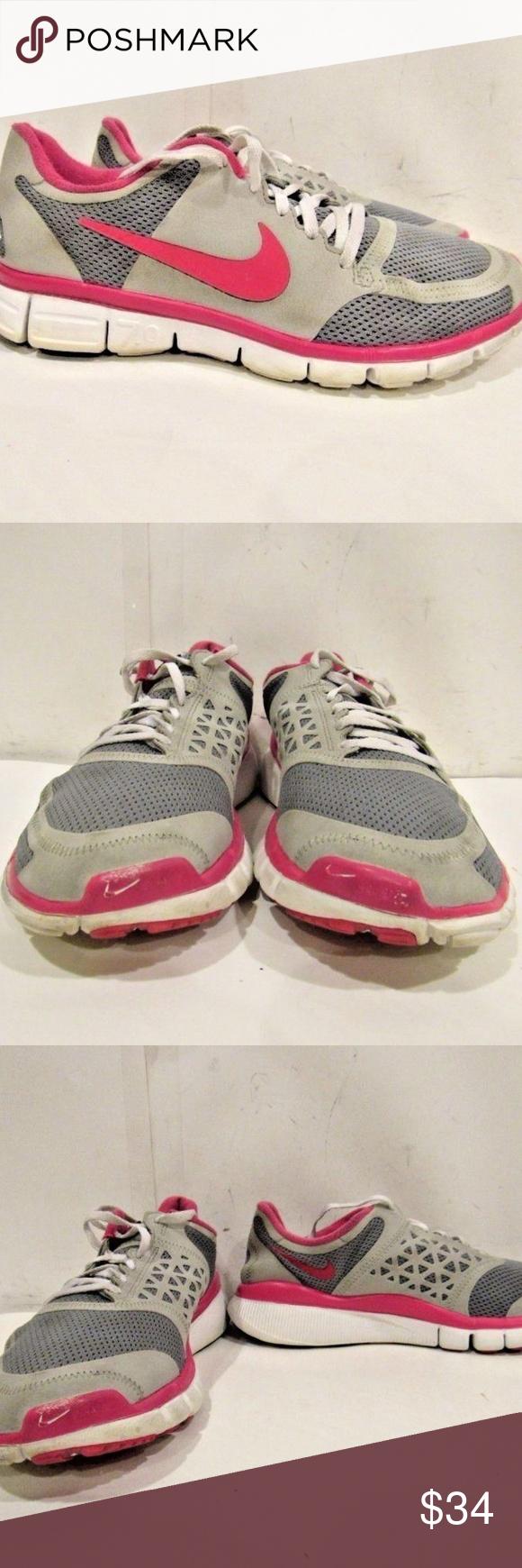 48ea8194a22fb NIKE FREE 7.0 Size 10 Running Sneaker Shoes Women NIKE FREE 7.0 Size 10M  Gray