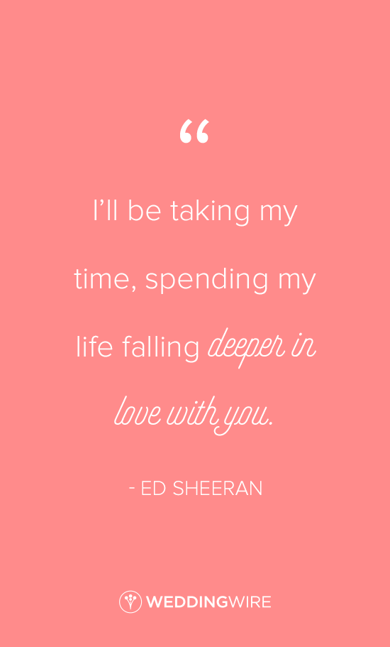Ed Sheeran Love Quote Idea How Would You Feel Lyrics I Ll Be