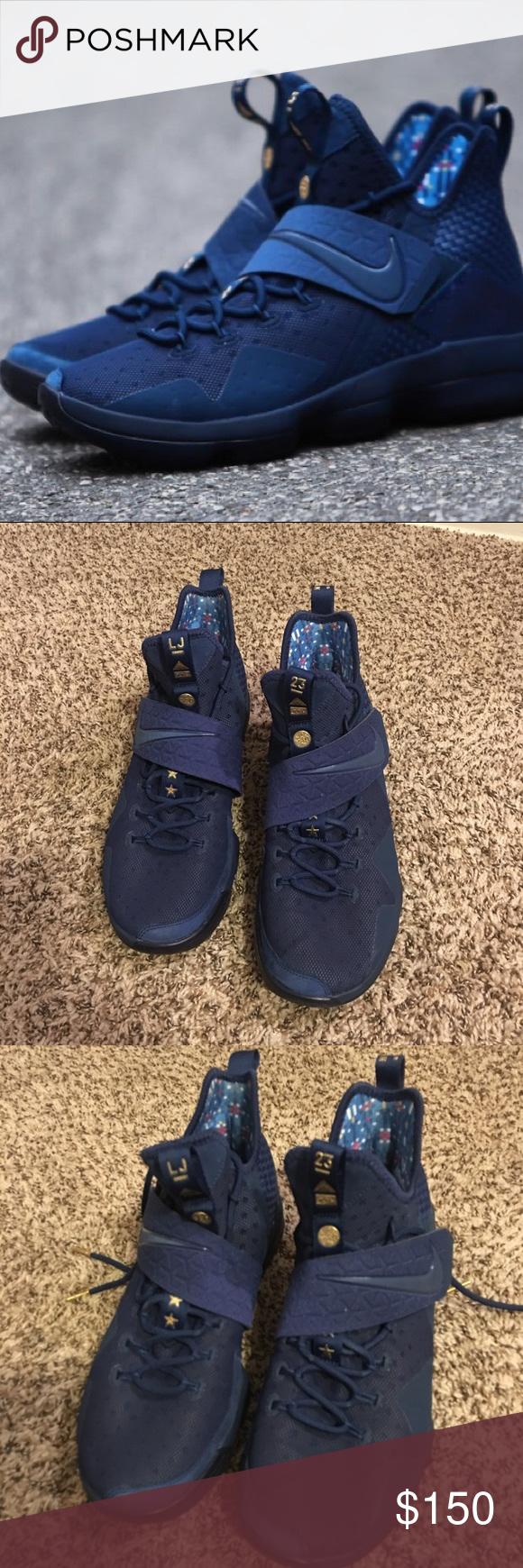 "brand new 17b8b 391ec LBJ XIV basketball shoes Barely worn. ""Agimat"" style LeBron ..."