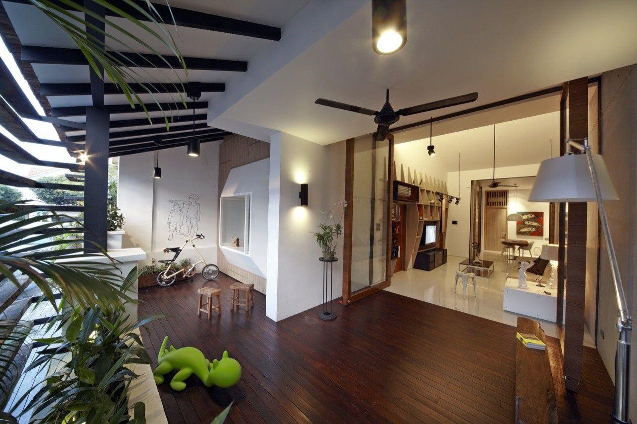 House at Hillside,© Nota Design International pte Ltd