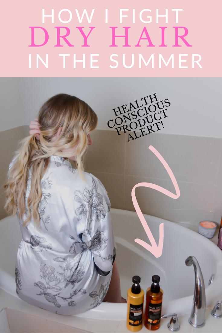 My Healthy Fix to Combat Dry Hair Dry hair, Shampoo