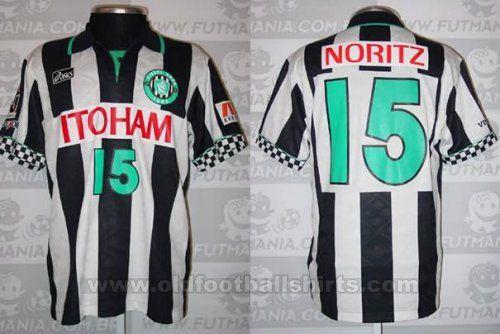 Vissel Kobe Casa camisa de futebol 1998