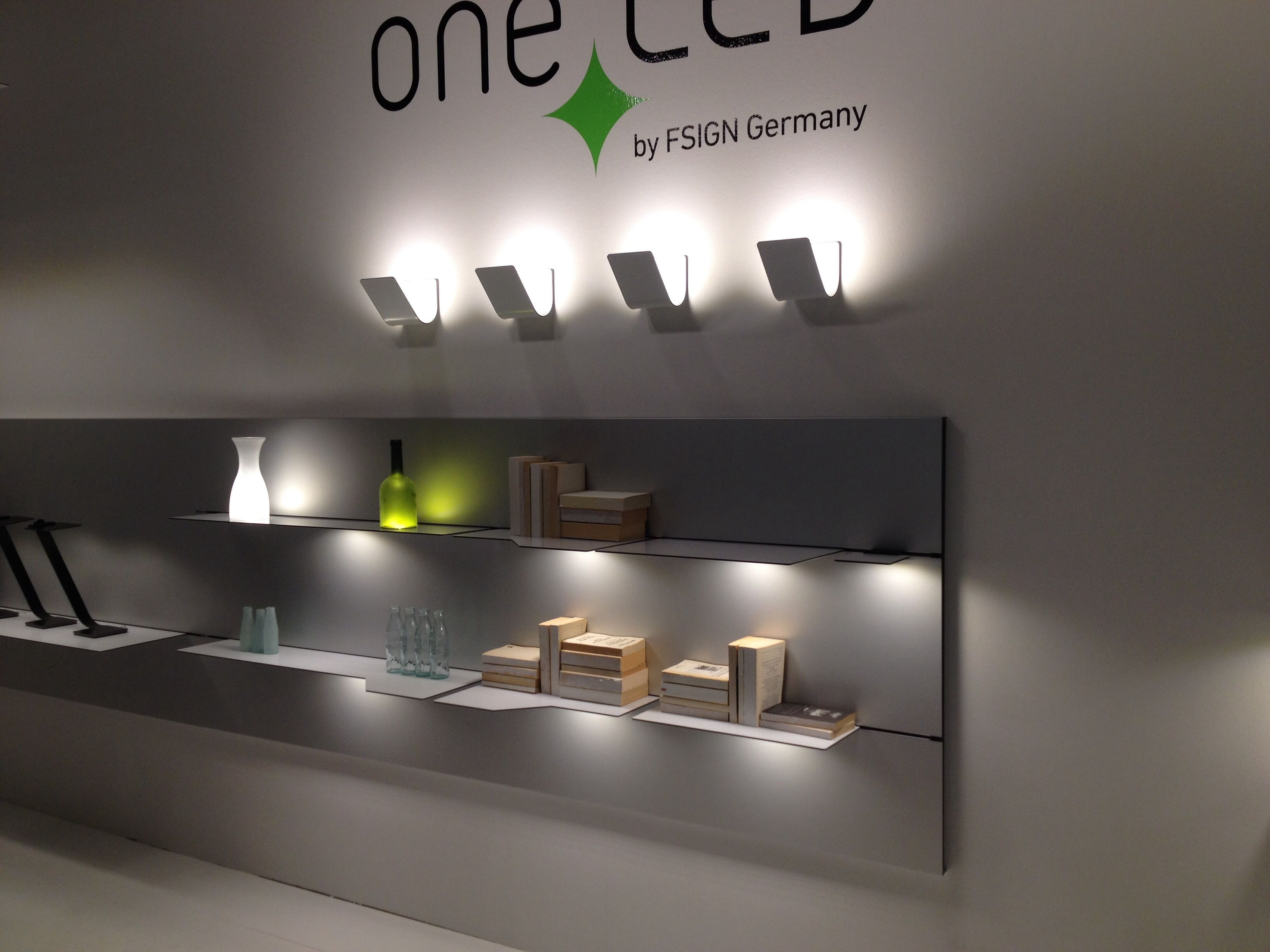 Neue led leuchten Serie oneled by Fsign . LED und mehr