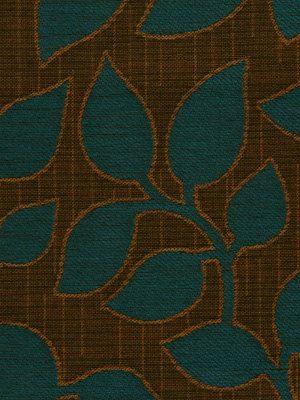 Teal Upholstery Fabric Teal Brown Fabric With By PopDecorFabrics - Designer upholstery fabric teal