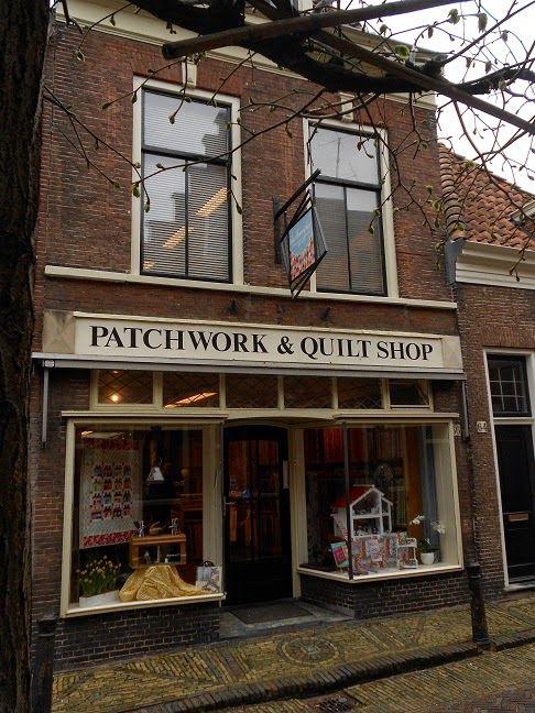 The Sampler quilt shop in Haarlem, Netherlands