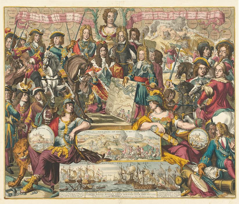 アウクスブルク同盟(1686〜1697) 1686年に神聖ローマ帝国はじめと ...