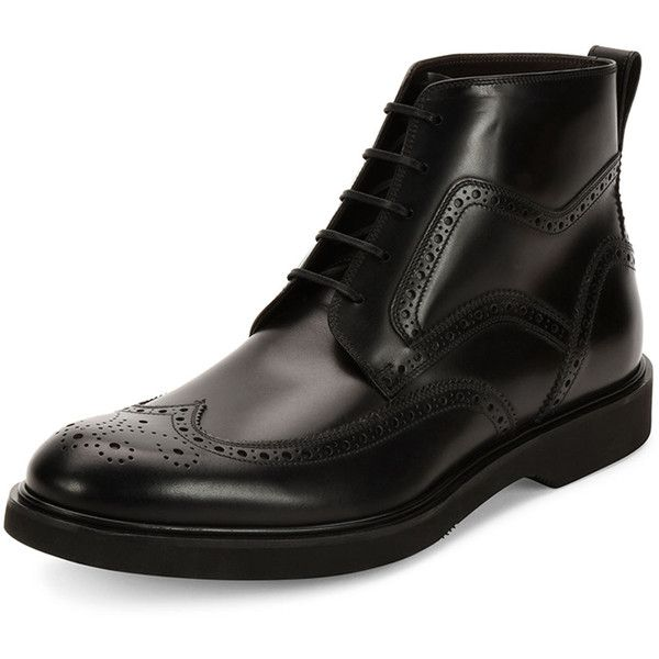 sale footlocker finishline sale original Salvatore Ferragamo Brogue Lace-Up Booties EaXC3E