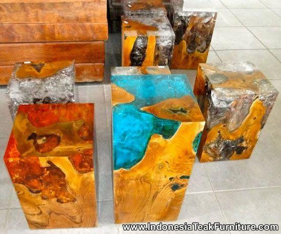 Epoxy Driftwood Table: Wood In Resin - Google Zoeken