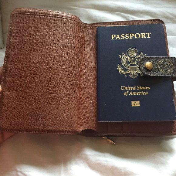 Autporte Papier Wallet Date Code Spfirm Vuitton Bag - Porte papier