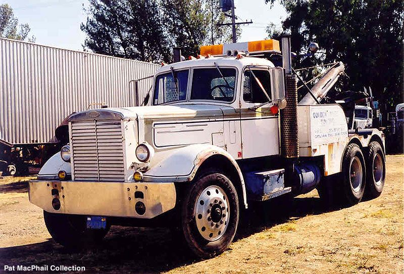 Mack lt homemade recovery boom tow trucks recovery